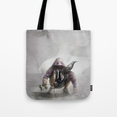 The Crow of Zagreb Tote Bag