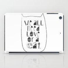 Le Chat. iPad Case