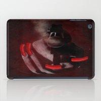 Grunge Bang Bang Red Nails  iPad Case
