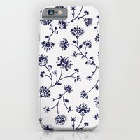 Indigo Floral Trail (rev… iPhone 6 Slim Case