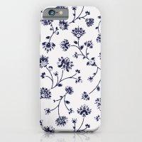 Indigo Floral Trail (rev… iPhone 6 Slim Case