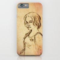 Katniss - Portrait iPhone 6 Slim Case