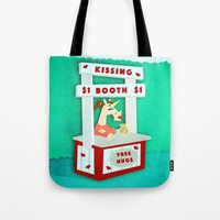 Kissing Booth Unicorn Tote Bag