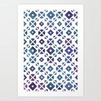 Broken Geometry 3 Art Print
