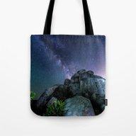 Milky Way Rock Tote Bag