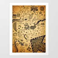 Therapy (: Art Print