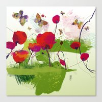 Spring's coming Canvas Print