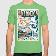 BIONIC! Mens Fitted Tee Grass SMALL