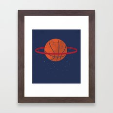 Spaceball Framed Art Print