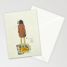 It Always Happens | Collage Stationery Cards