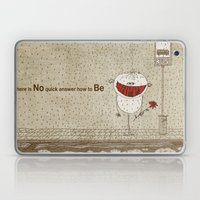 How To Be Happy Laptop & iPad Skin