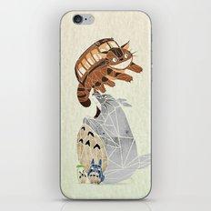 tonari no totoro iPhone & iPod Skin