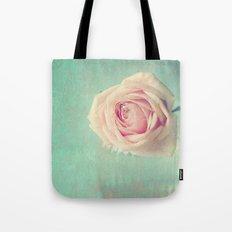 Mint Rose  Tote Bag