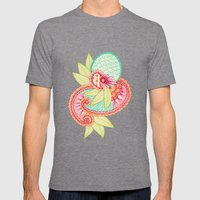 Arabesque #1 Mens Fitted Tee Tri-Grey SMALL