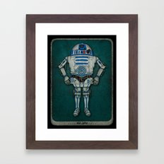 R2 3PO Framed Art Print