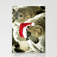 Tis The Season - Sheep Stationery Cards