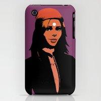 iPhone Cases featuring Valentina in minimum by Serhii Bilyk