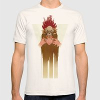Wet Hot Indian Summer Mens Fitted Tee Natural SMALL