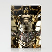 C-3PO Iphone protocol droid case. Stationery Cards