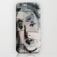 iPhone & iPod Case featuring BRICKED VENUSIAN FACE by JANUARY FROST