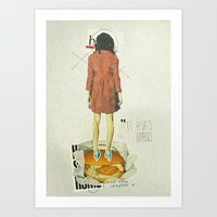It Always Happens | Coll… Art Print