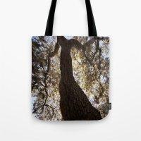 Looking Upwood 2 Tote Bag