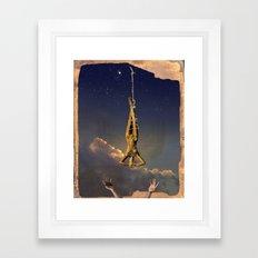 Tarot series: The Stars Framed Art Print