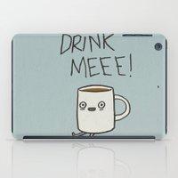 Drink Me Coffee iPad Case