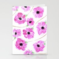 Anemone Stationery Cards