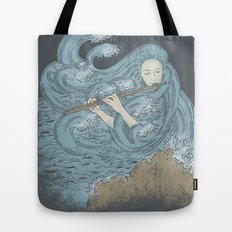Ocean Symphony Tote Bag