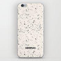 Retro Speckle Print - Bo… iPhone & iPod Skin