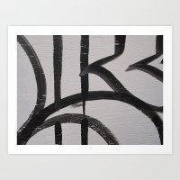 Linework 2 Art Print