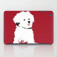 Bichon Frise Dog Art iPad Case