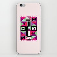 Violet Triangulation iPhone & iPod Skin