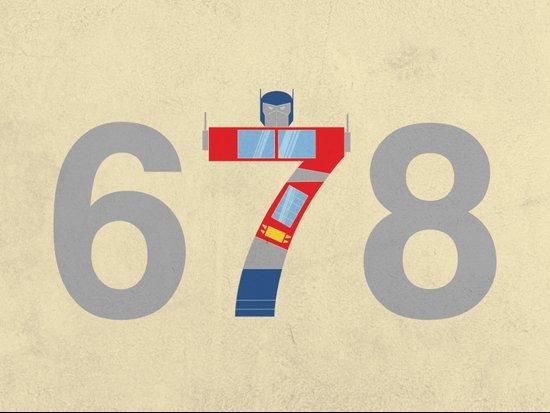 Prime Number Art Print