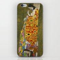 Hope II By Gustav Klimt  iPhone & iPod Skin