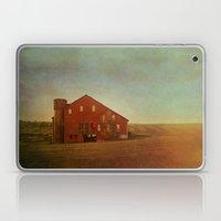 Red Barn In Autumn Laptop & iPad Skin