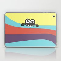 Yummy Colorful Stripes Cute Cartoon Character Laptop & iPad Skin