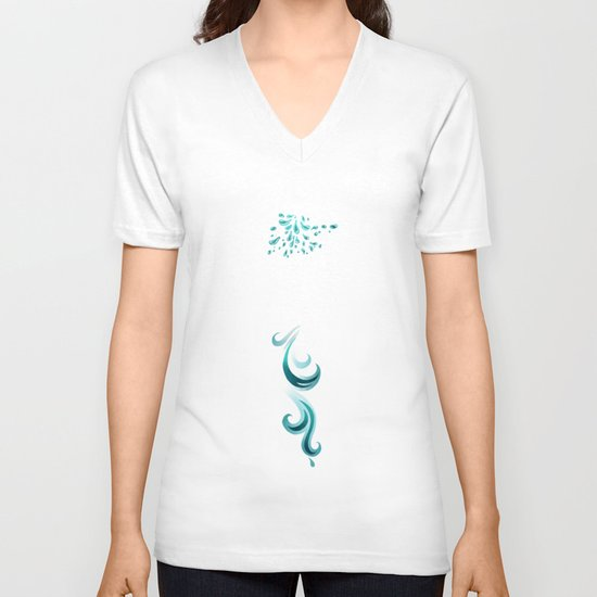 Light Fox V-neck T-shirt