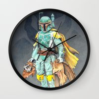 Star Wars Boba Fett and friends Wall Clock