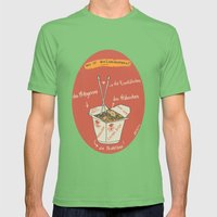Die Nudelbox Mens Fitted Tee Grass SMALL