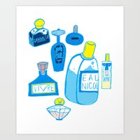 Fragrance Art Print