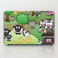 Down On Dingle Dopple Farm iPad Case