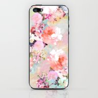 iPhone & iPod Skin featuring Love Of A Flower by Girly Trend