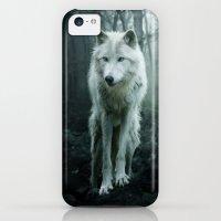 iPhone 5c Cases featuring Wolf by Julie Hoddinott