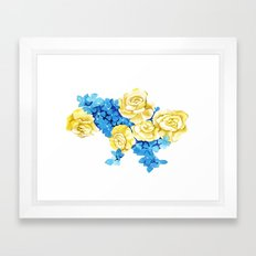 Ukraine Framed Art Print