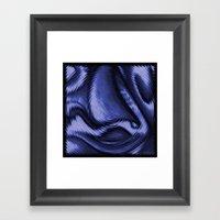 Blue Ballet Framed Art Print