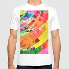 Playa del Carmen Sun No.1 Mens Fitted Tee White SMALL