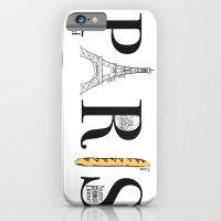iPhone & iPod Case featuring PARIS by R.Bongiovani