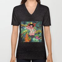 The Lizard Queen Unisex V-Neck